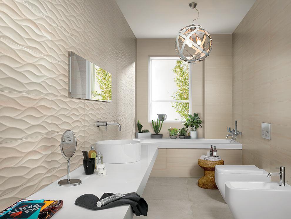 Fap presenta le nuove texture 3d di zero social design magazine - Produttori ceramiche bagno ...