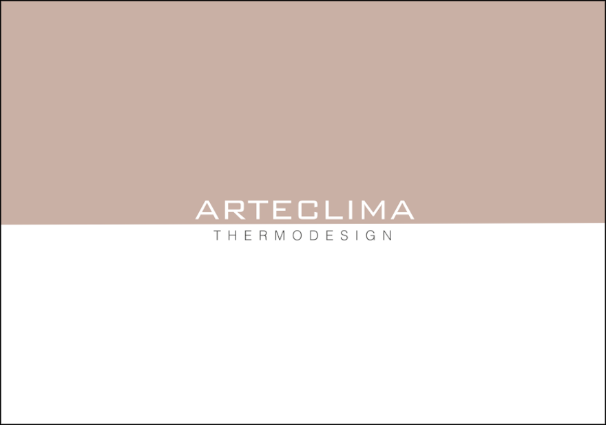 "Arteclima ""Thermodesign"" a capa do novo catálogo"