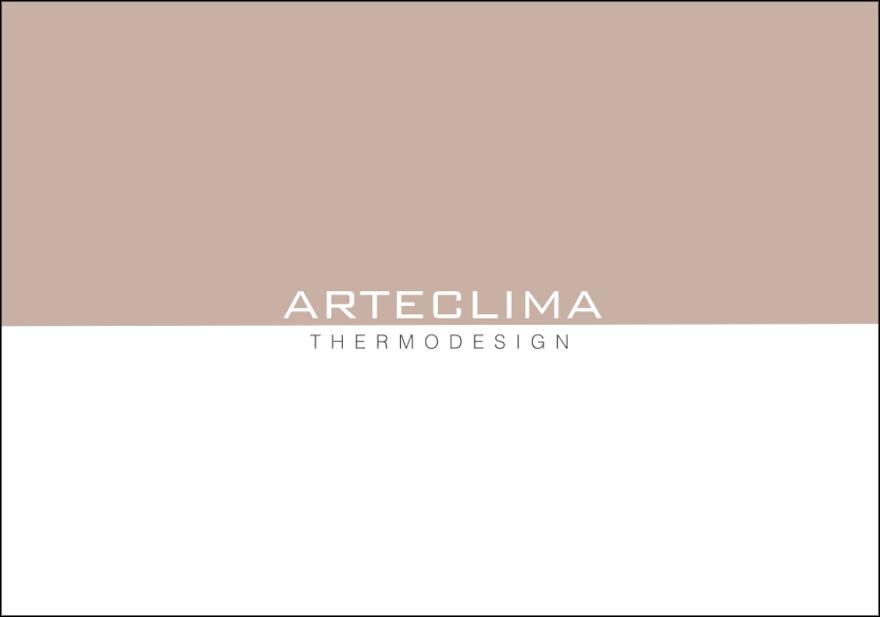 """Arteclima """"Thermodesign"""" la copertina del nuovo catalogo"""