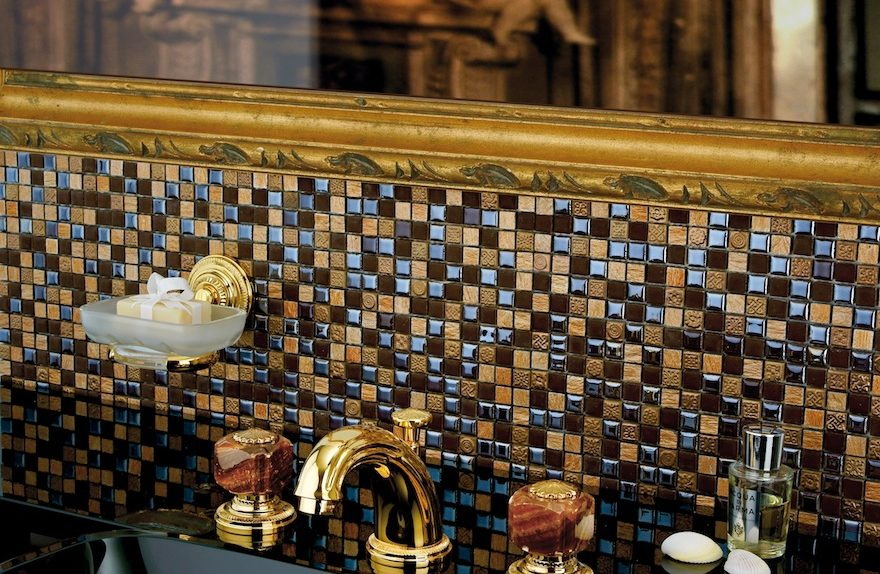 """M Style Collection"" with precious stones for ""jewel bathrooms"""