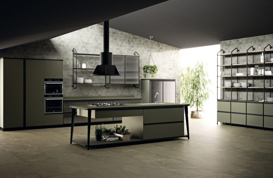 Diesel with Scavolini kitchen Open Workshop