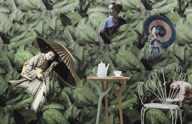 Masami papier peint Vito Nesta pour Texturae