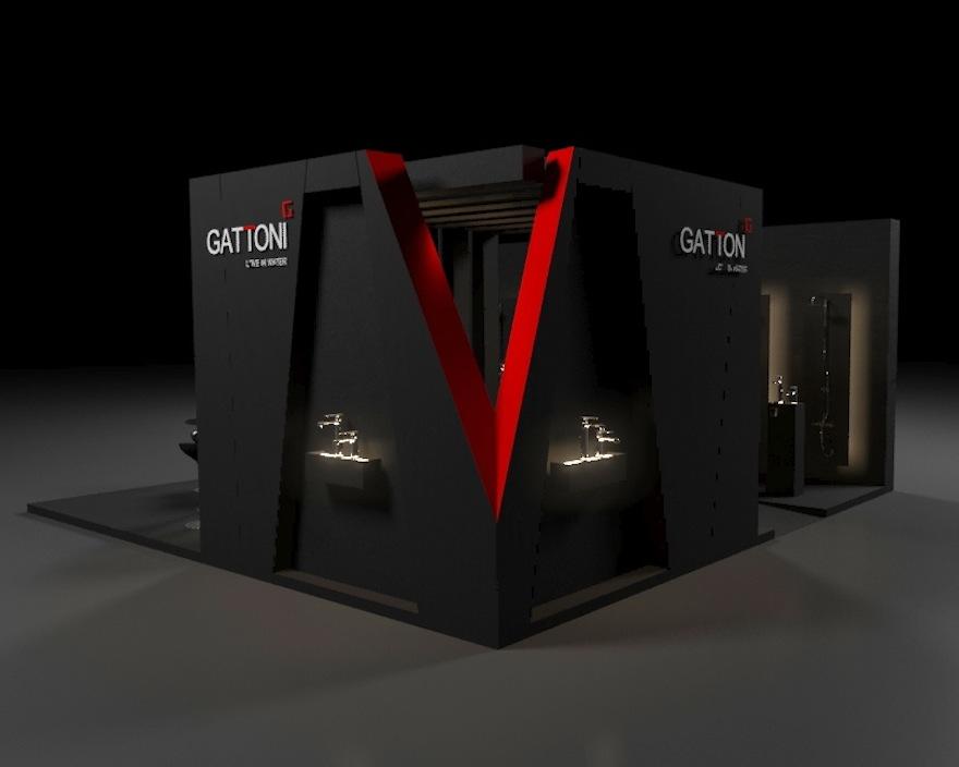 lo stand di Gattoni a Tektonika