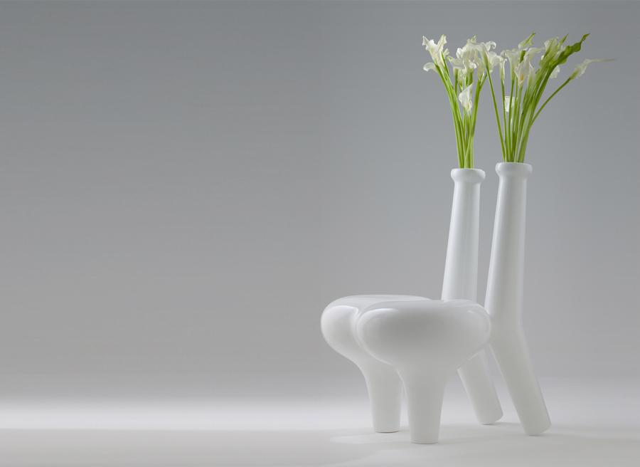 Cadeiras de oferecimento da flor