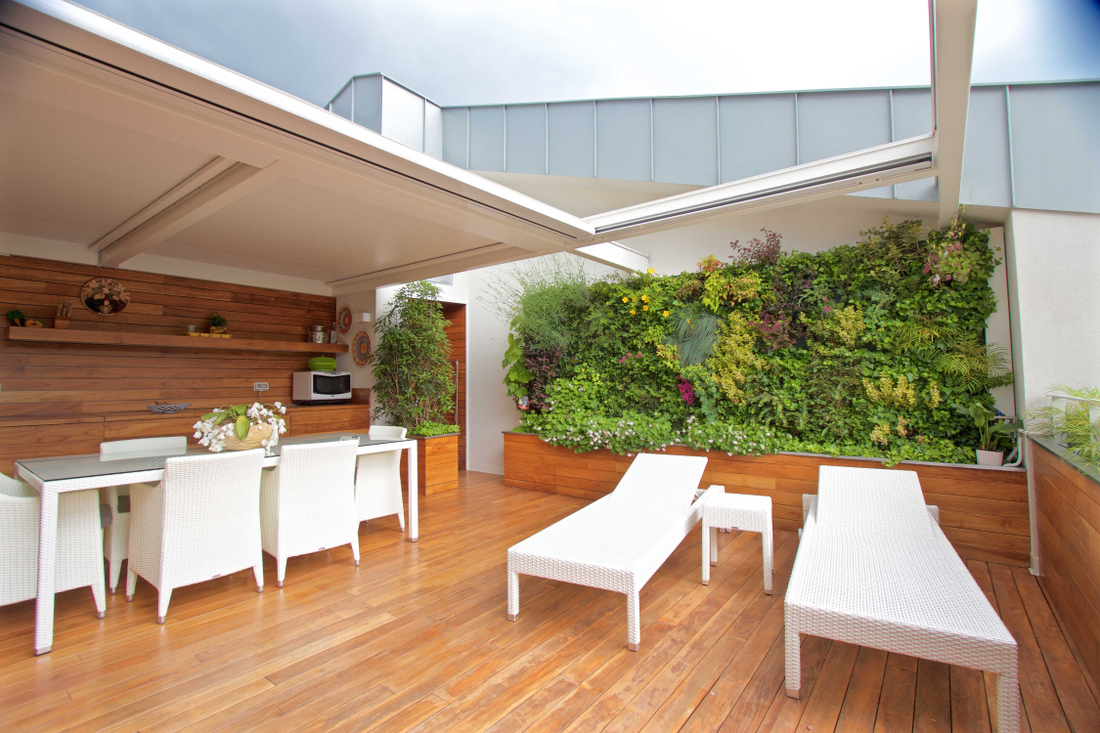 Sundar Itália jardim vertical
