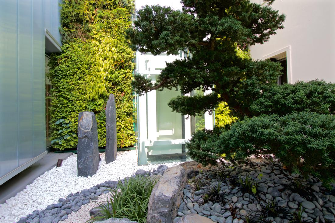 Sundar Italien vertikalen Garten