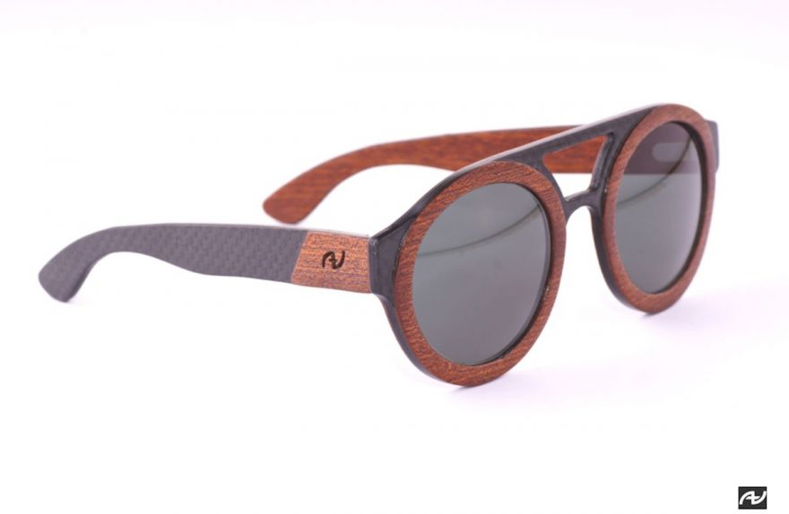Maximum Annibali, wood and carbon eyewear