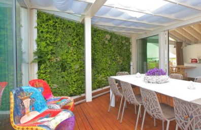 Sundar Italia casa privada terraza jardín vertical