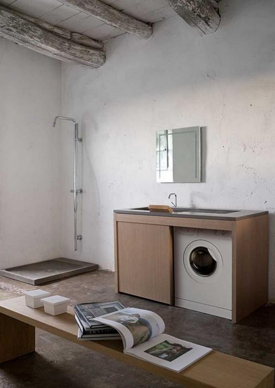 Soluzioni con lavatrice da incasso 2 social design magazine - Lavatrice in bagno soluzioni ...