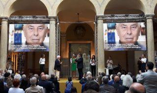 Carlo Bartoli Compasso D'oro Alla Carriera, premiazione