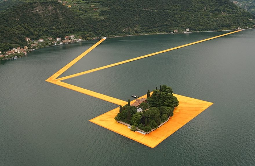 Christo, Floating Piers