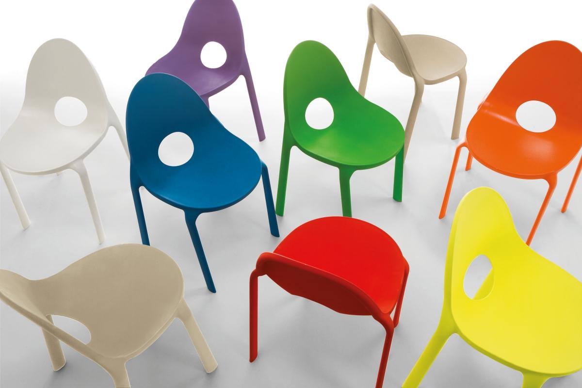 椅子ドロップ、インフィニティデザイン