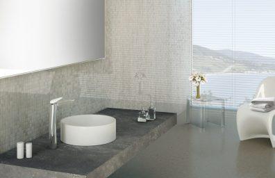 Toque piso Sinergia abierto 93 del lavabo del fregadero