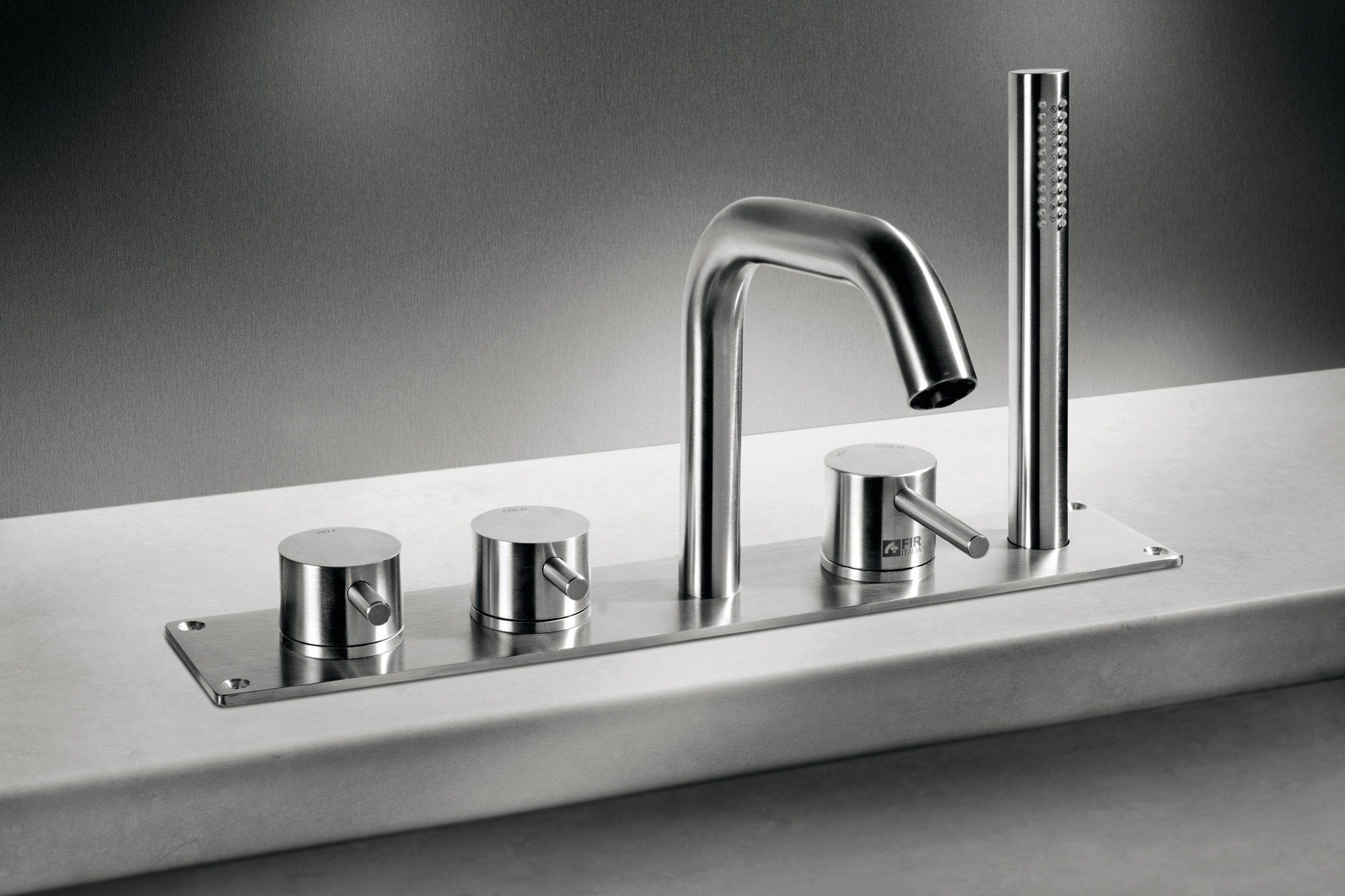 Tap poolside CleoSteel 48. Finish Brushed Stainless Steel