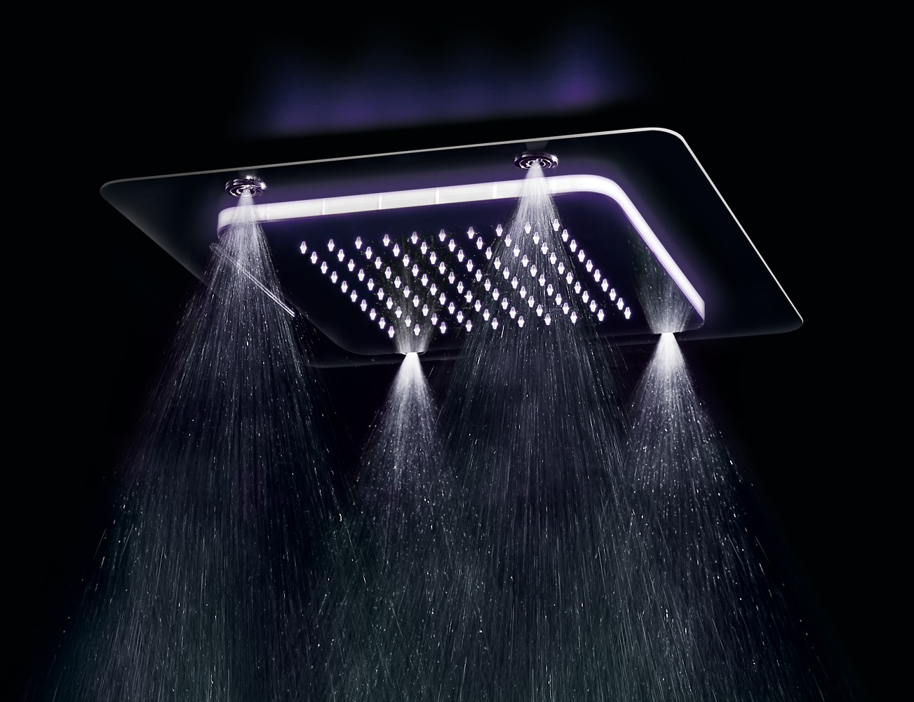 Multifunction showerhead shower Playone recessed ceiling