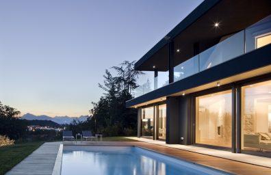 iArchitects - Villa nan mòn yo nan Udine