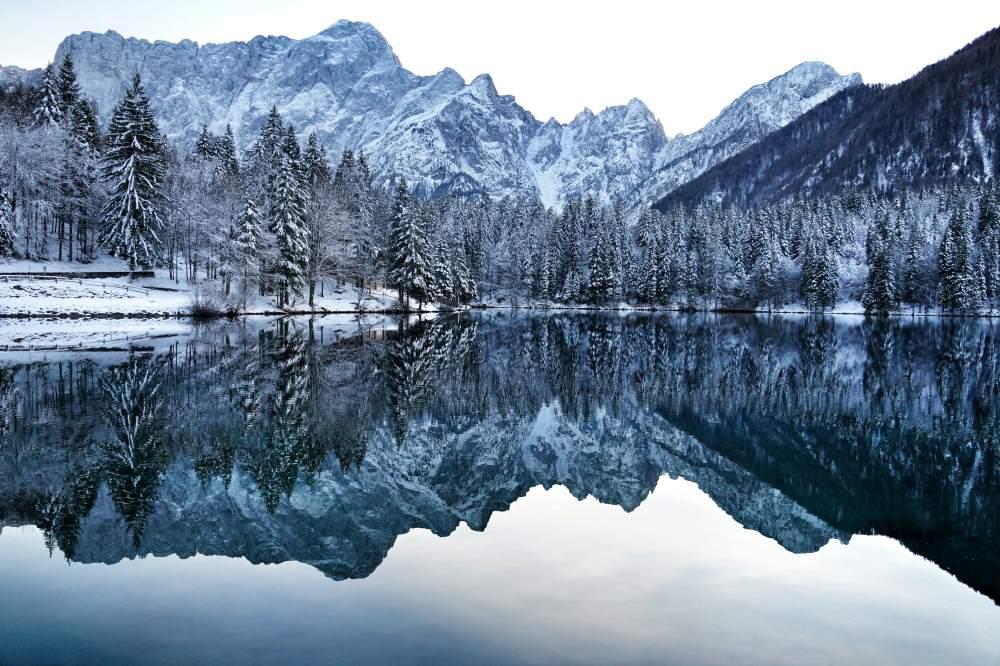 espelho de lago