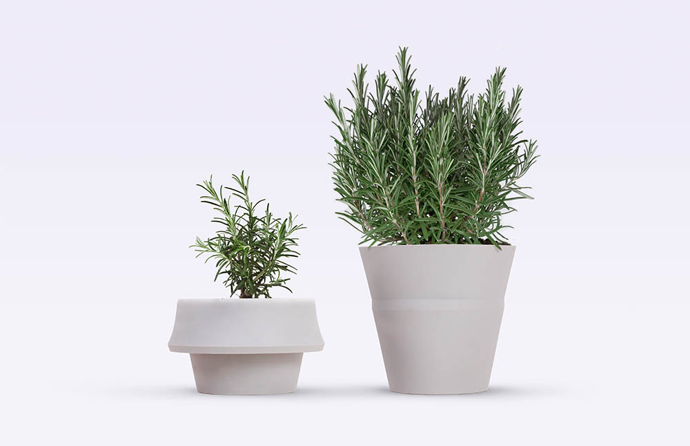 JOKJOR FOLD, the planter that grows along with the plant