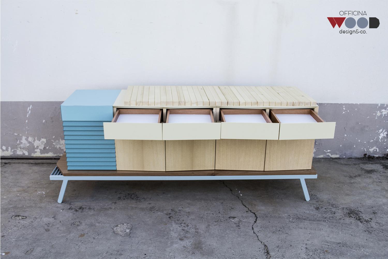 ワークショップ・木材食器棚-hellomare-05