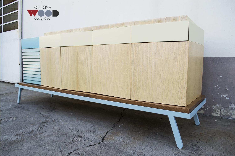 ワークショップ・木材食器棚-hellomare-11