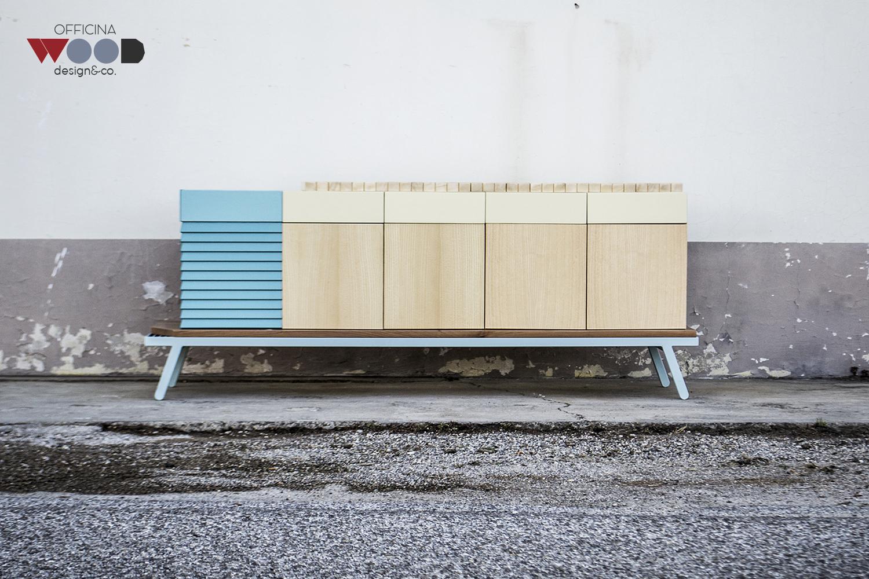 ワークショップ・木材食器棚-hellomare-15