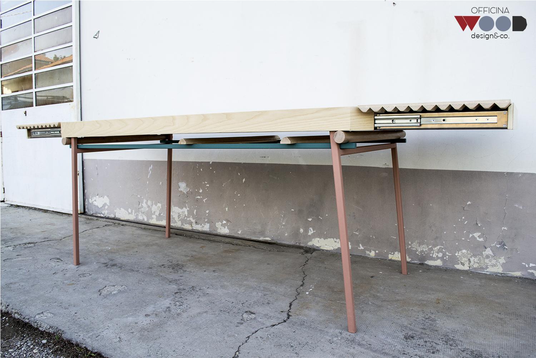 ワークショップ・木材・テーブル拡張可能-agrestick-07
