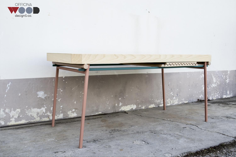 ウッドワークショップ、伸縮テーブルagrestick
