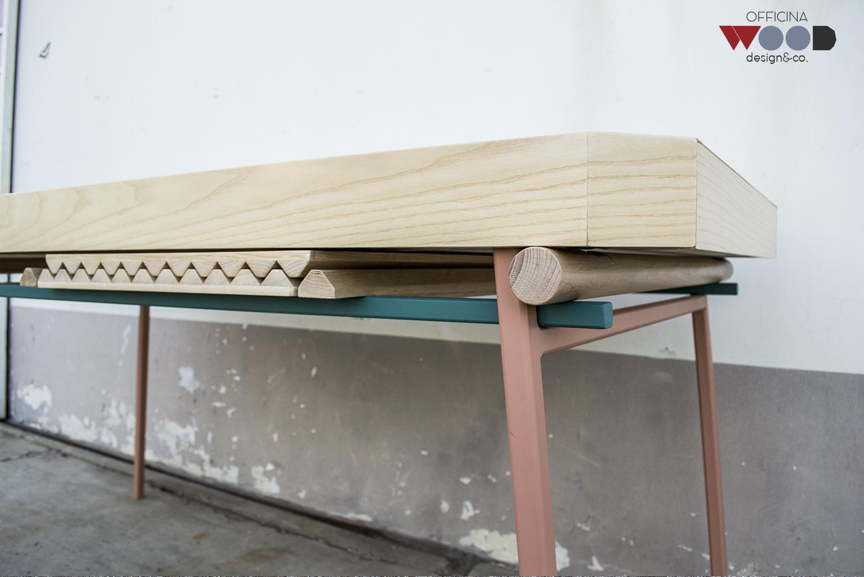 ワークショップ・木材・テーブル拡張可能-agrestick-10