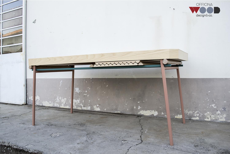 ワークショップ・木材・テーブル拡張可能-agrestick-11