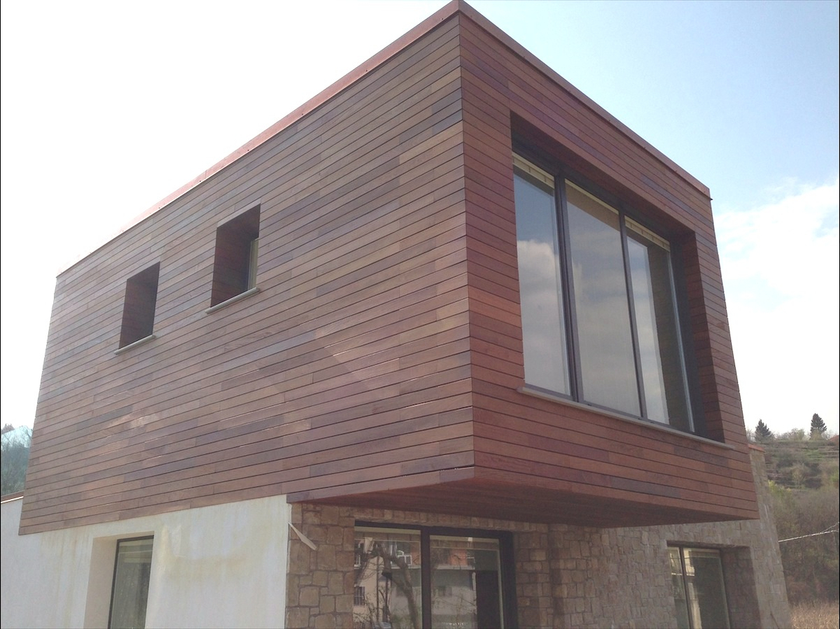 Deco Ipe Lapacho residencia privada en Bergamo