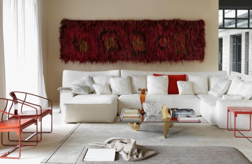 WOW sofa, desing Philip Starck for Driade