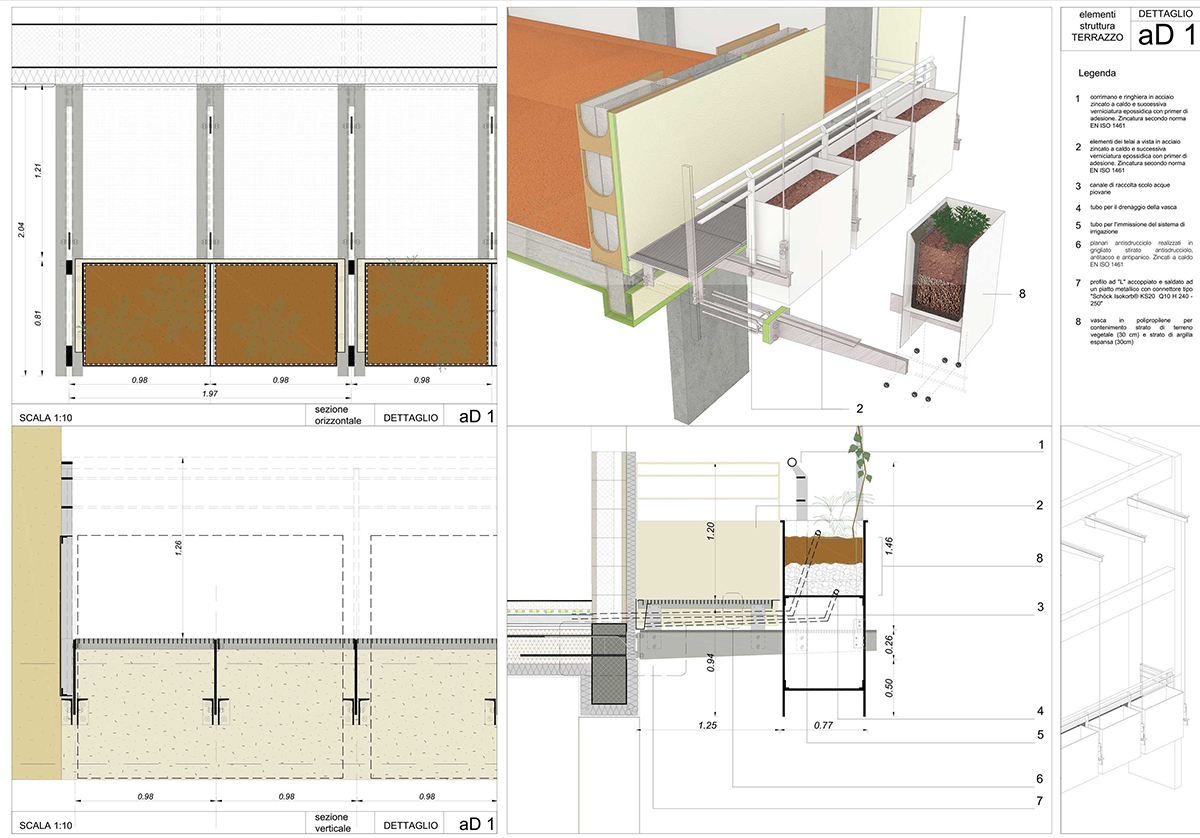 assisted living in Sale Marasino, technical drawings, CCDSTUDIO
