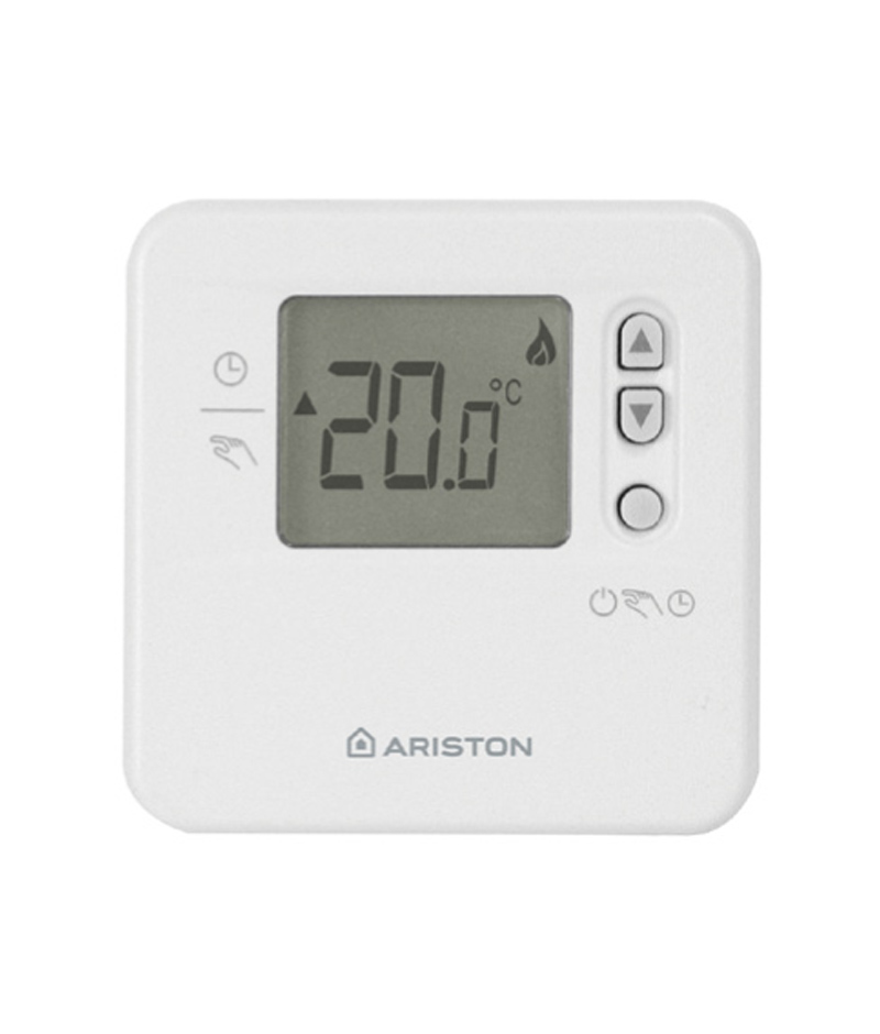 Modulating room thermostat