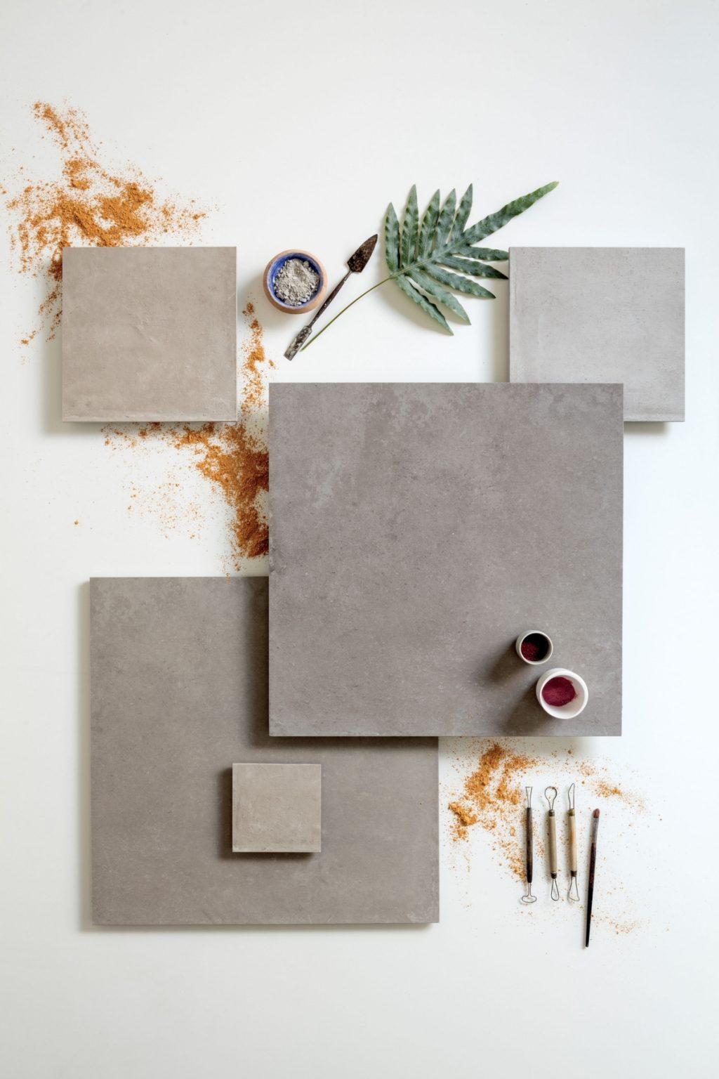 Céramique béton effet claymood