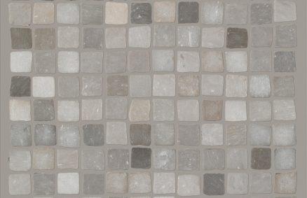 Keramik Beton-Effekt claymood Mosaik Handwerk 60x60 cm
