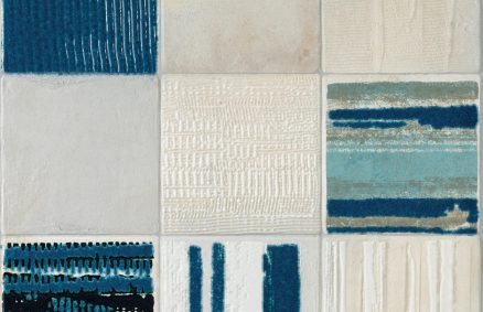Céramique effet concret forme claymood Murano 60x60 cm
