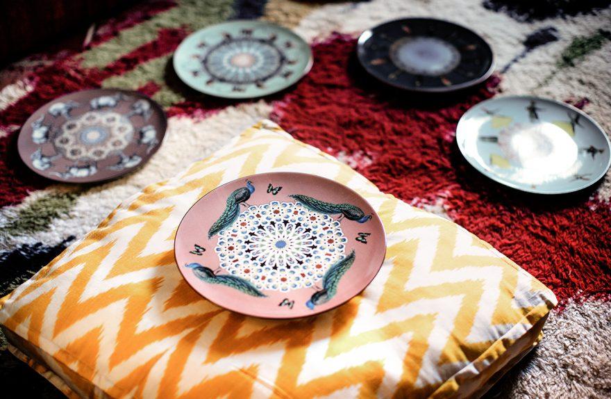 Costantinopoli, collezione di piatti by Vito Nesta