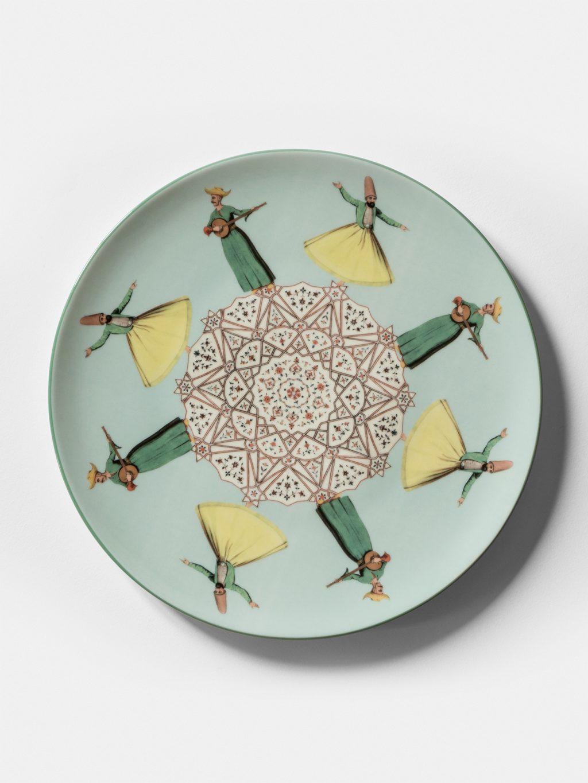 Costantinopoli, collezione di piatti by Vito Nesta, dervisci
