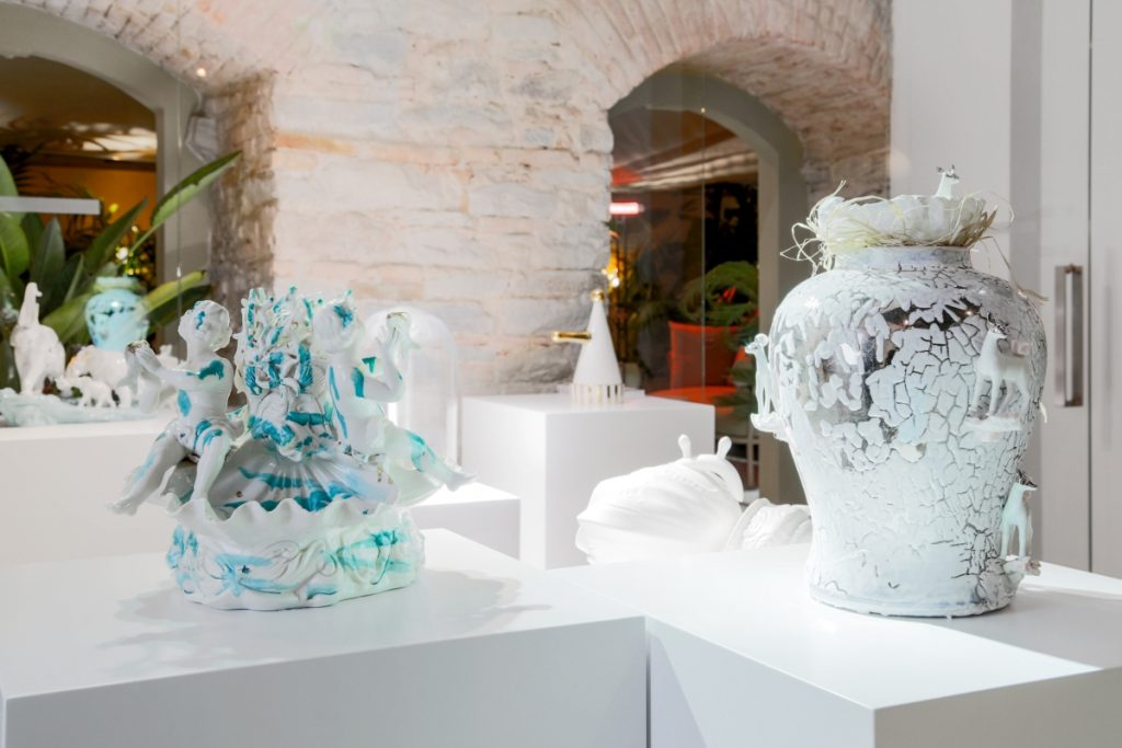 mostra BRILLIANT CERAMICS