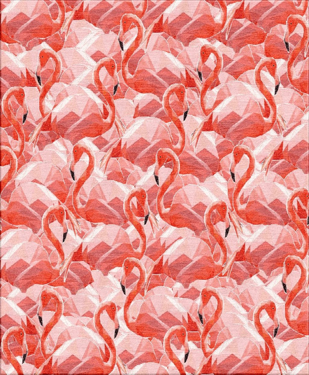 Flamingos Teppich Illulian