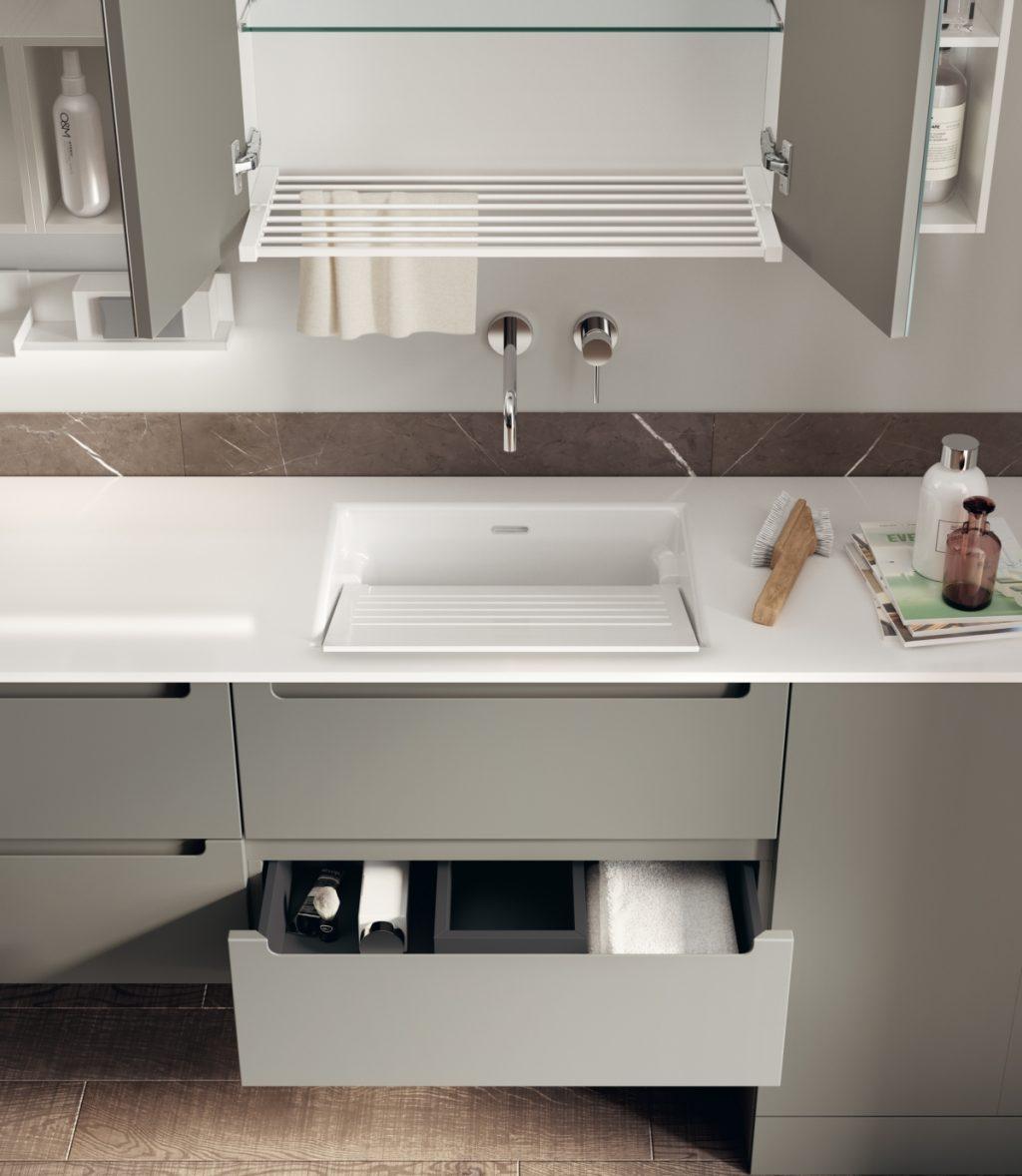 Espace de lavage par Scavolini Salle de bain