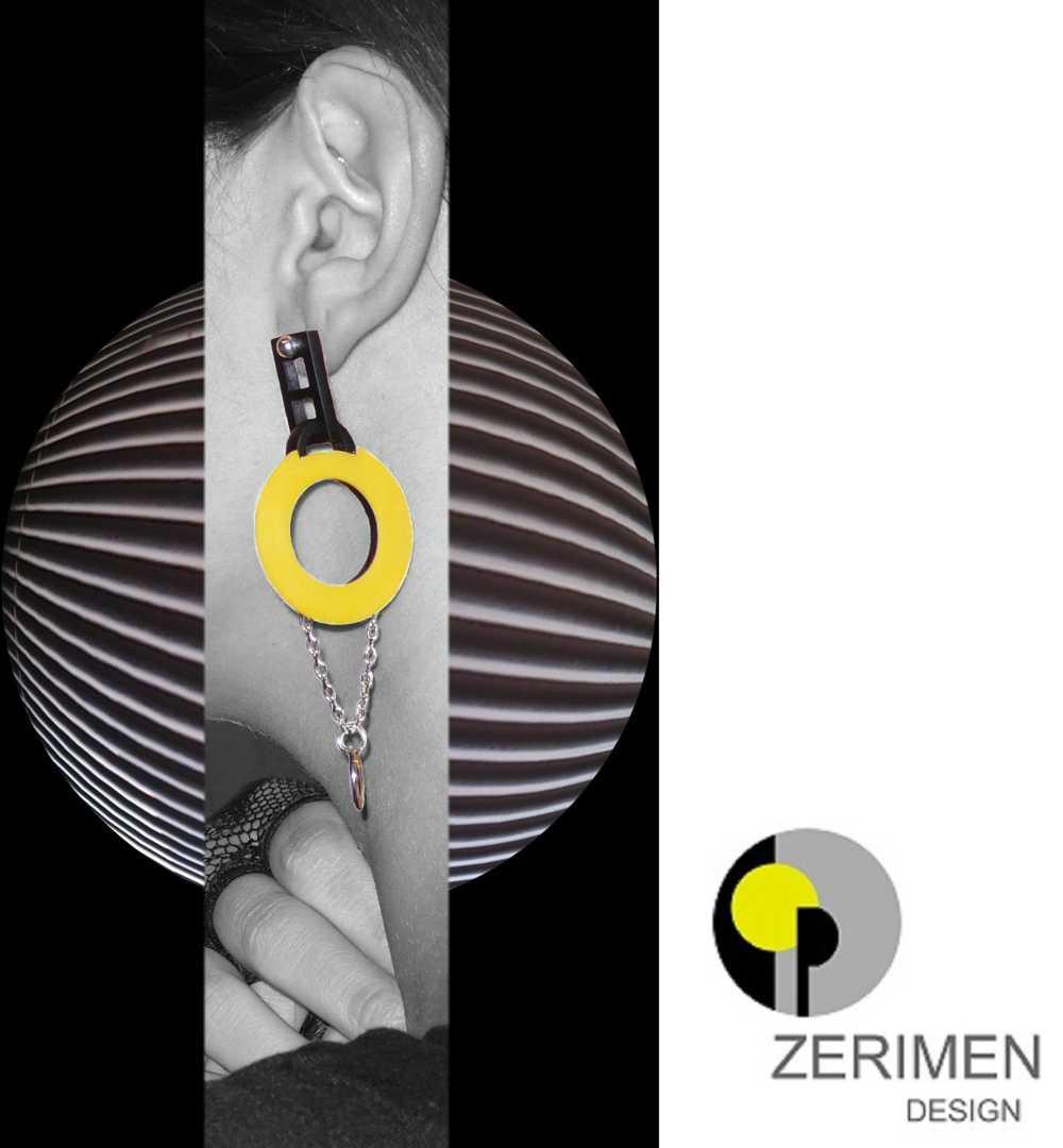 Pedalando, bijoux Zerimen design
