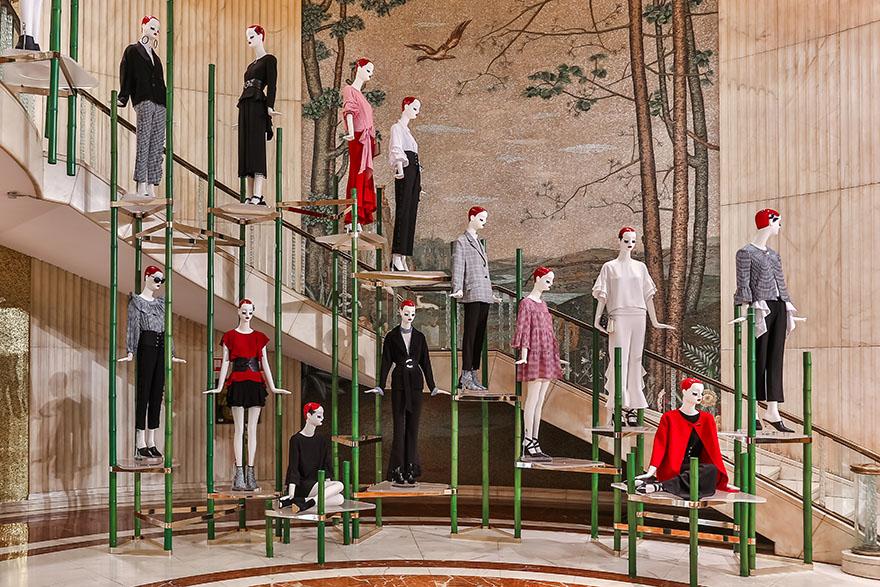'ARCO DEL TRIUNFO' por Matteo Thun para el buque insignia de Zara