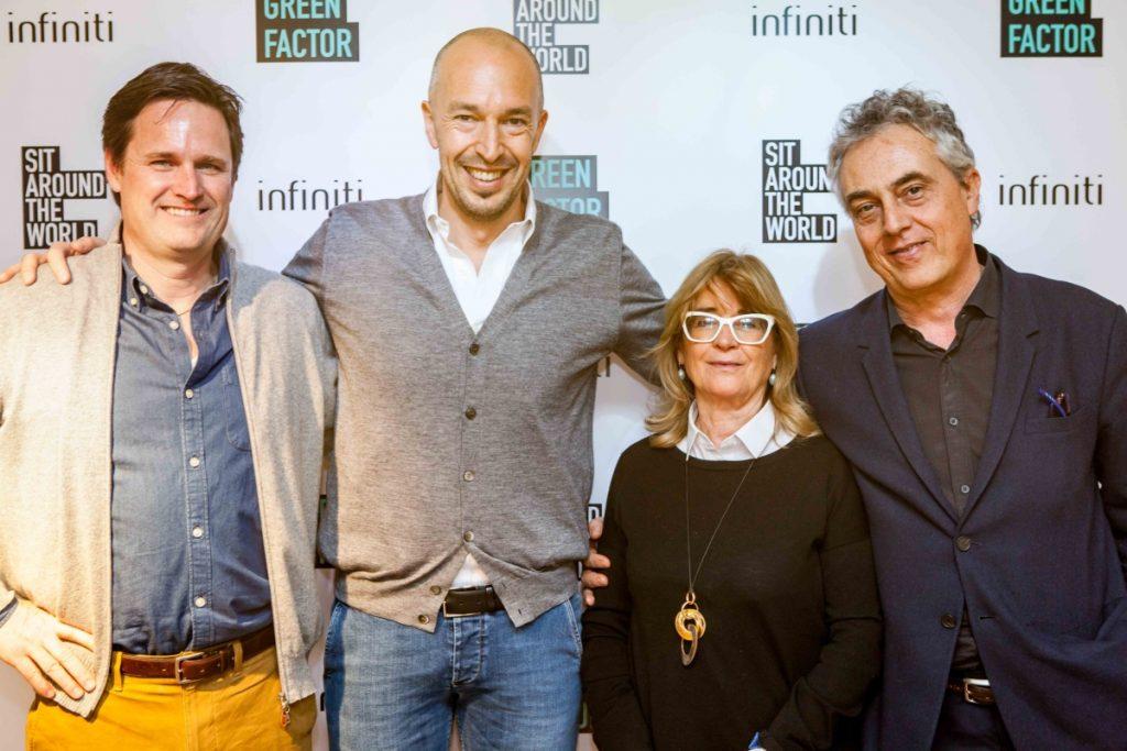 Jurado Foto Infiniti factor de verde concurso de diseño
