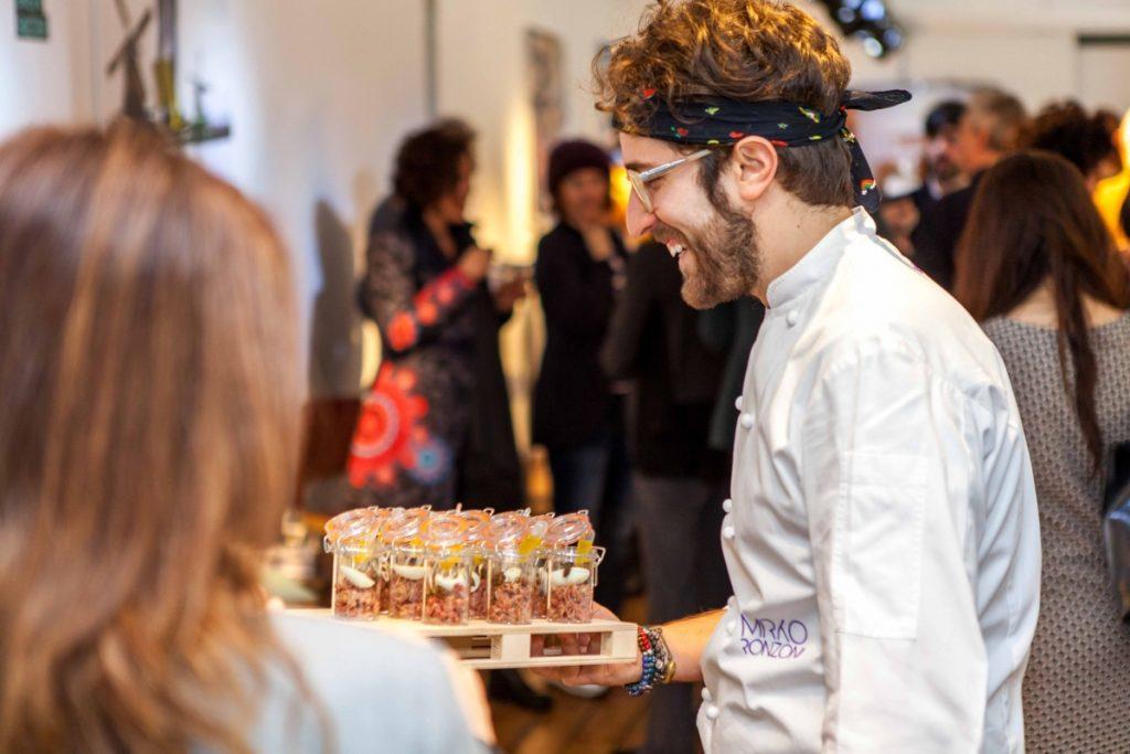 Infiniti Design Contest Lanzamiento - un tiempo de almuerzo con el chef Mirko Ronzoni