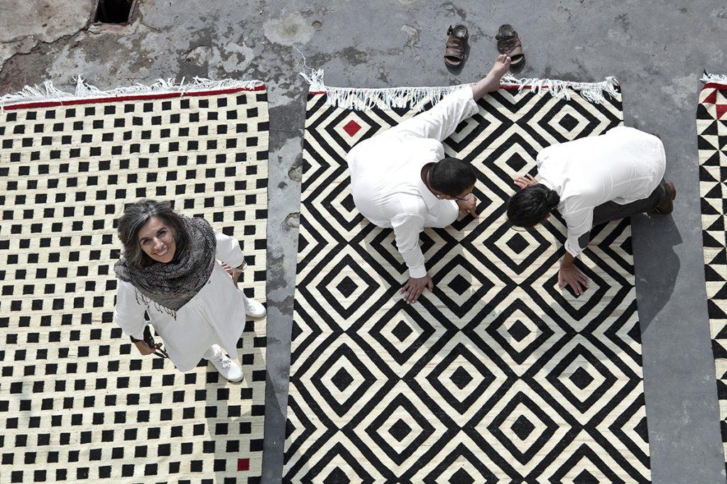 Melange pattern 1 Nanimarquina Sybilla