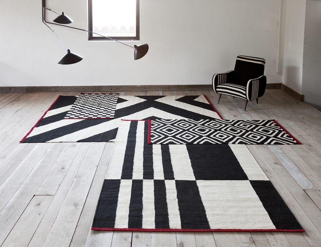 Nanimarquina Melange stripes 1 di Sybilla