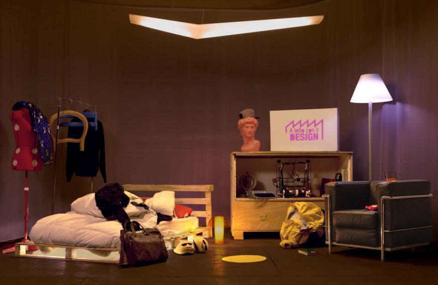 na cama com 2017 projeto Fuorisalone