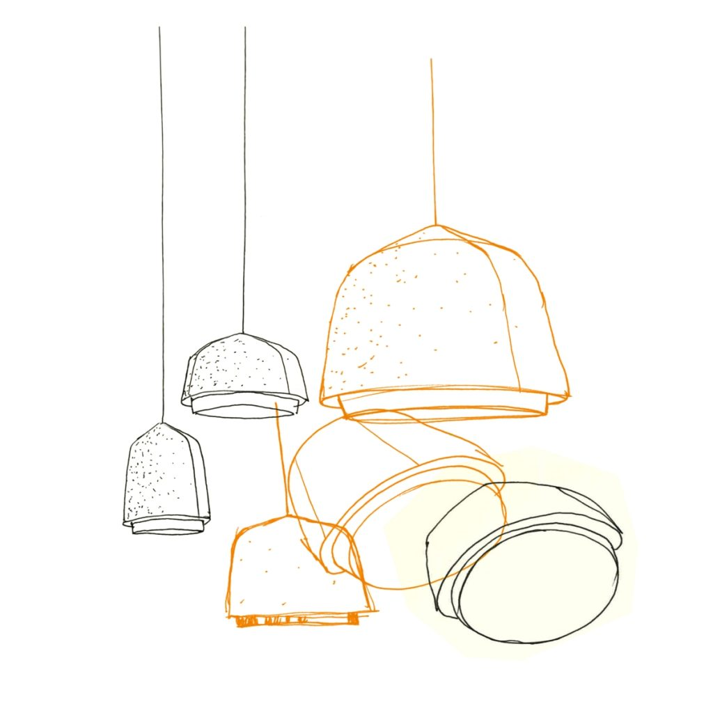 Lampe suspension Arumi