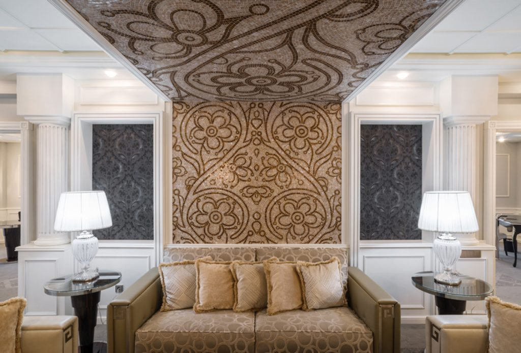 The Project Italia mosaic in the Executive Suite